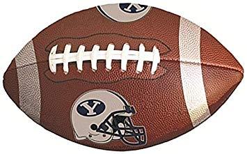 Amazon.com: 10 Inch BYU Logo Football Decal Brigham Young.