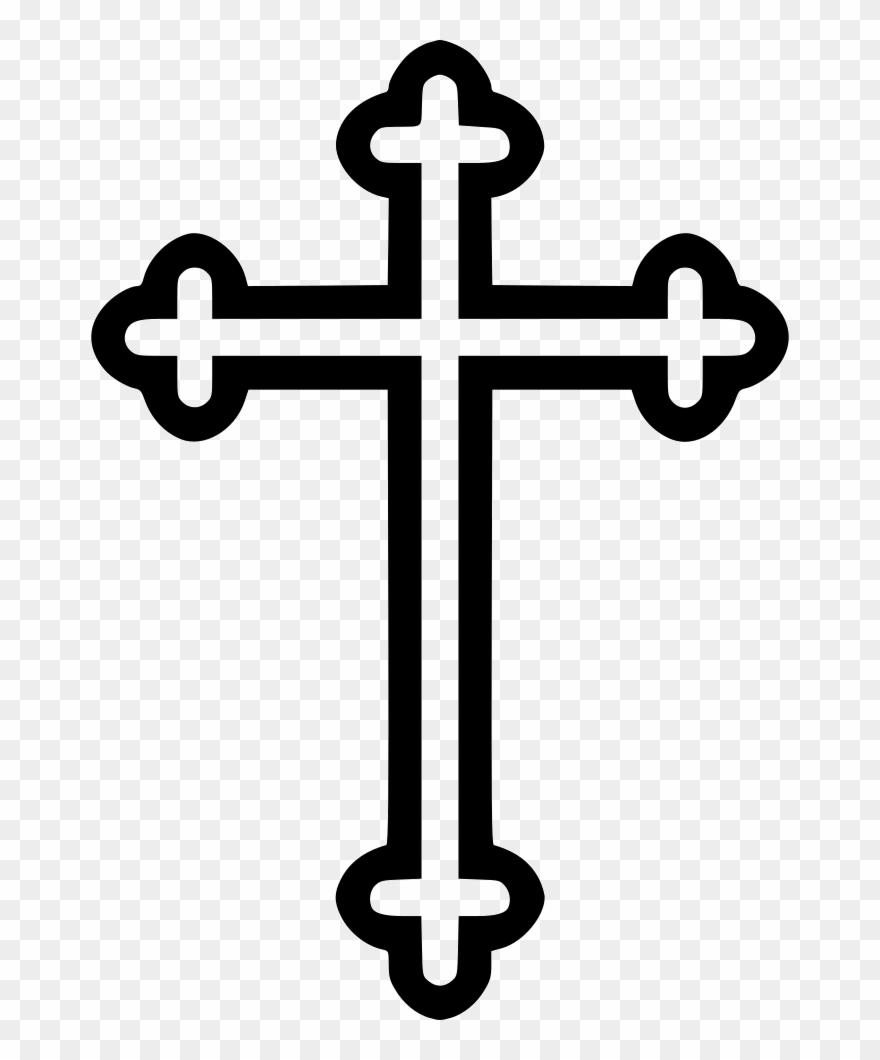 Cross Religion Symbol Byzantine.