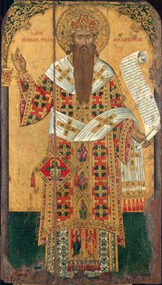 St Athanasios. Late 14th c..