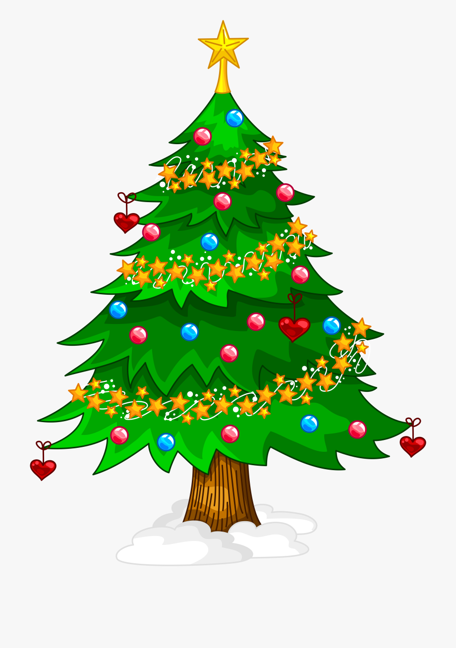 Christmas tree art download free clip art with a transparent.