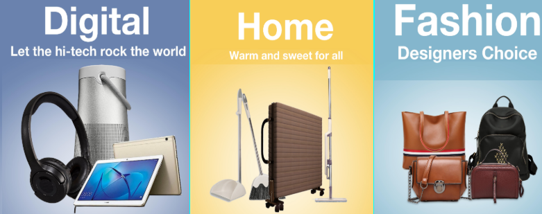 Bzzworld online shopping platform.