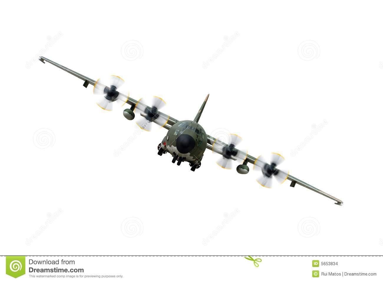 C130 Military airplane stock photo. Image of rotation.