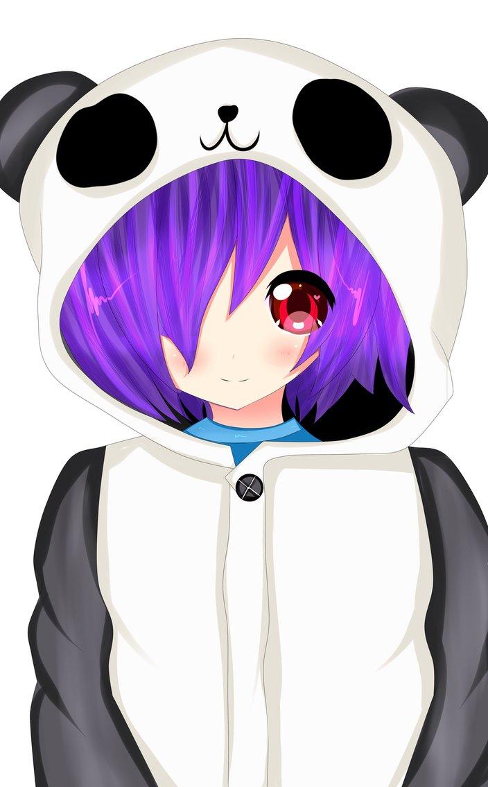 C] Fuwa fuwa Panda Boy by LaterNeverComes on DeviantArt.