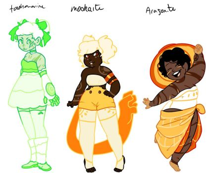DeviantArt: More Like Halloween Gem Collab Adopts: 1/5 OPEN by.