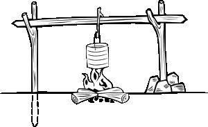 Campfires And Cooking Cranes 17 Clip Art at Clker.com.