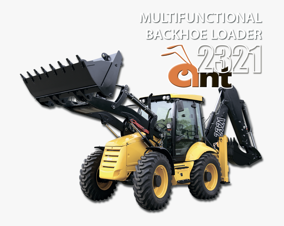 Ant 2321 Backhoe Loader Can Be Used In 40°c To 40°c.
