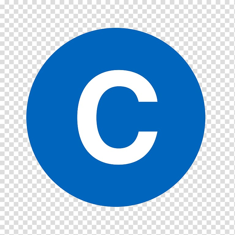 Logo LinkedIn Icon, letter C transparent background PNG.