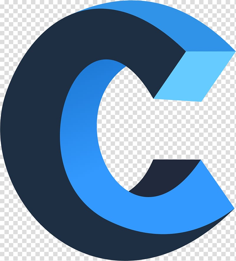 Letter C art, Logo C Letter, letter C transparent background.