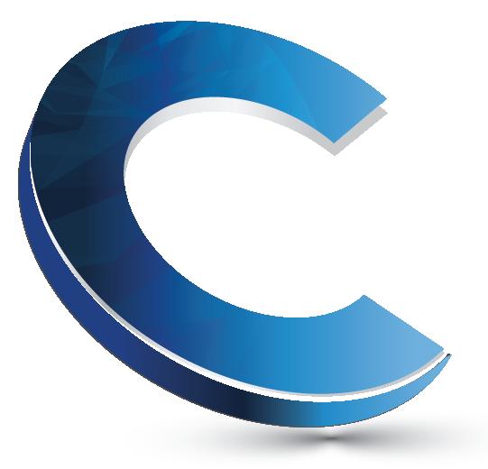 3D Logo Maker letter C logo creator.