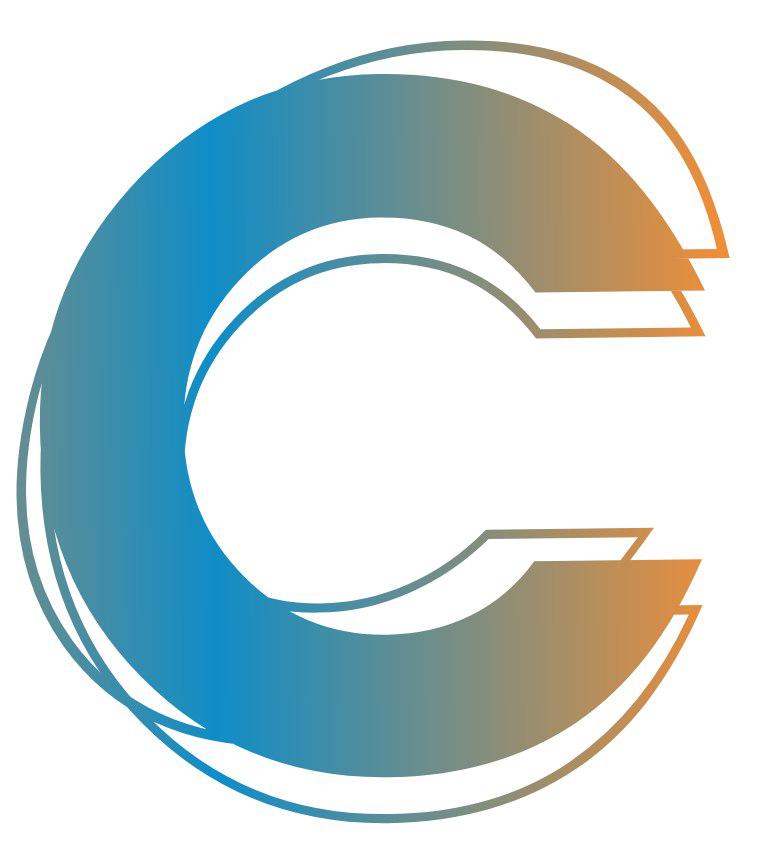 C Letter PNG Image File.