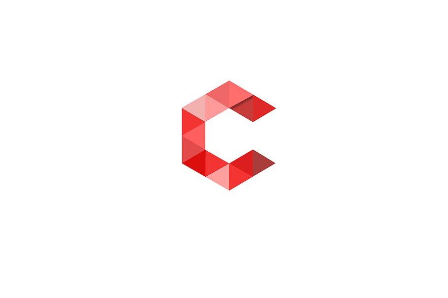 Letter C logo.