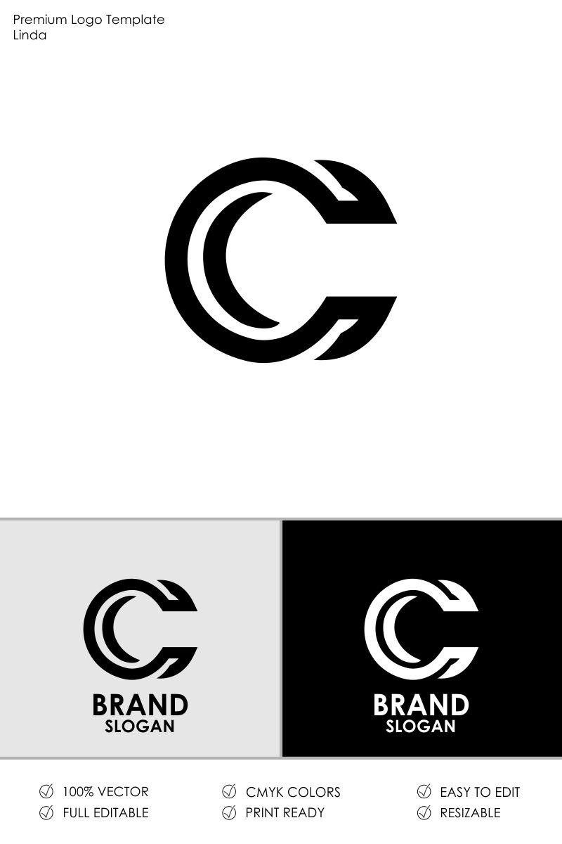 Letter C Logo Template #71279.