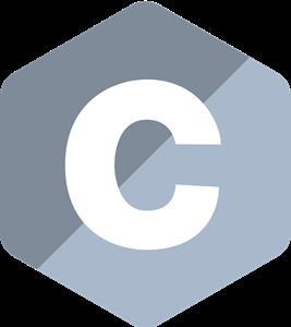 C Programming Language Logo Vector (.SVG) Free Download.