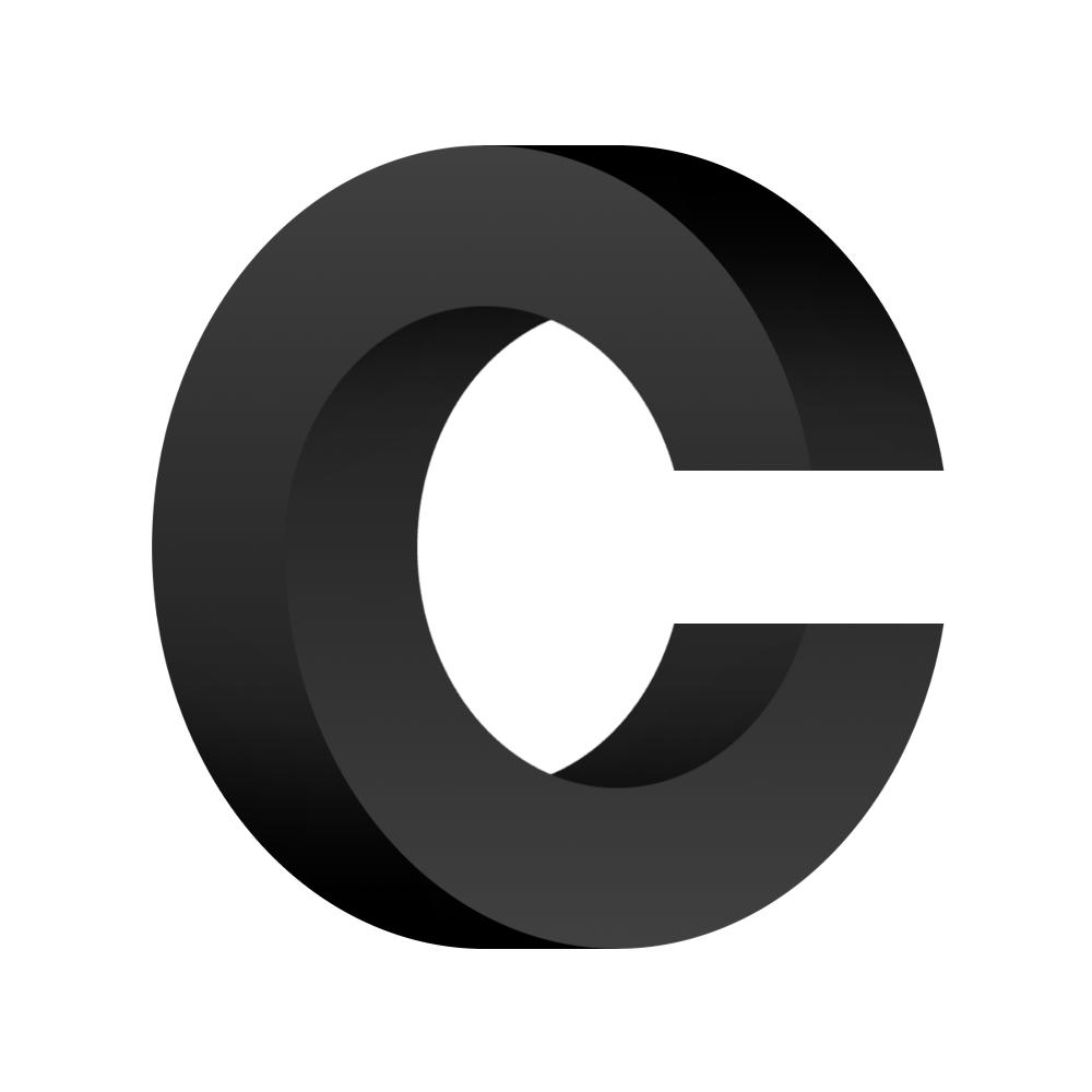 C logo.