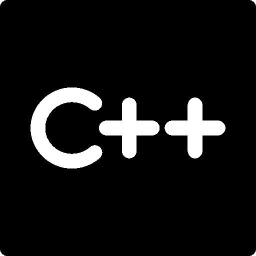 C++ logo.