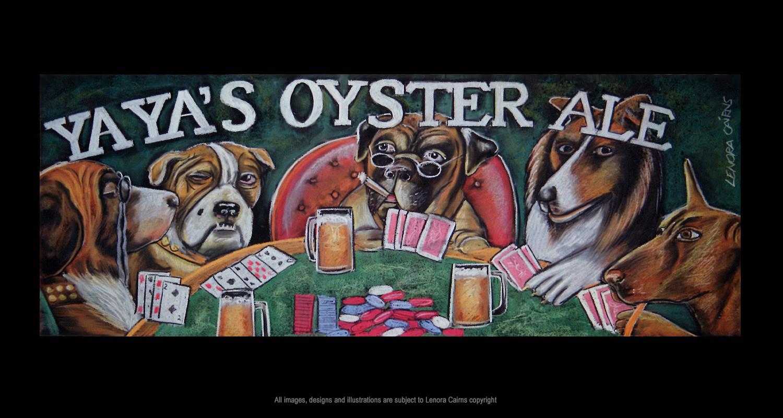 Poker dog artist.