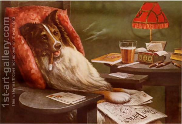 Bachelors Dog Cassius Marcellus Coolidge.