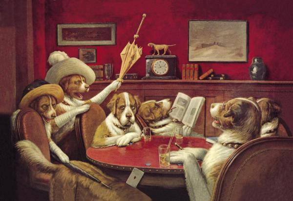 1000+ images about dogs gambling on Pinterest.