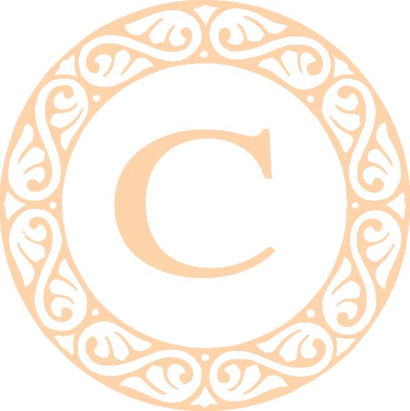 Letter C Monogram Clip Art At Clipartimage #376941.