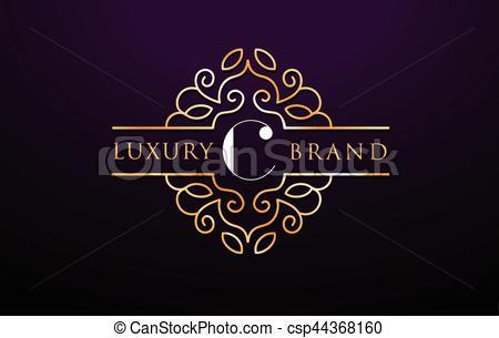 C Letter Logo Luxury.Royal Monogram Design.