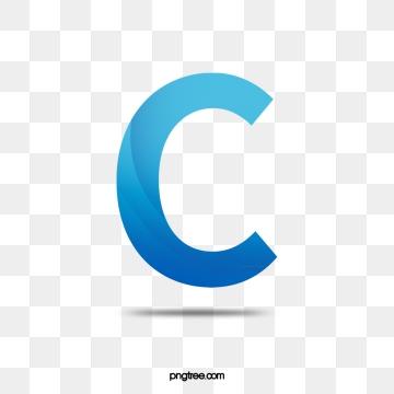 Letter C PNG Images.