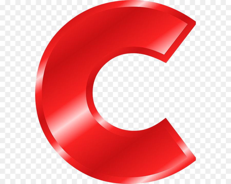 Letter C png download.