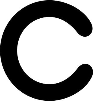 C Transparent PNG File.