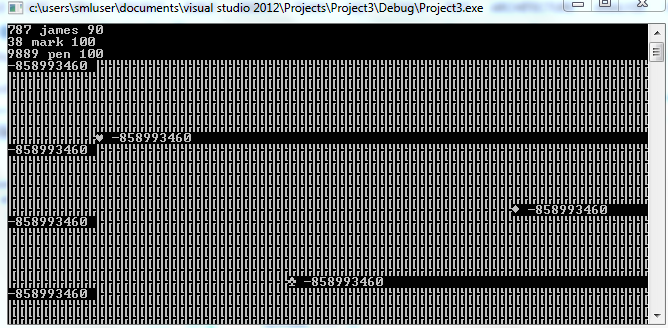C Prog. Read .txt file with strings and integers.