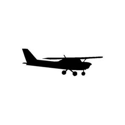 Cessna Plane Silhouette.