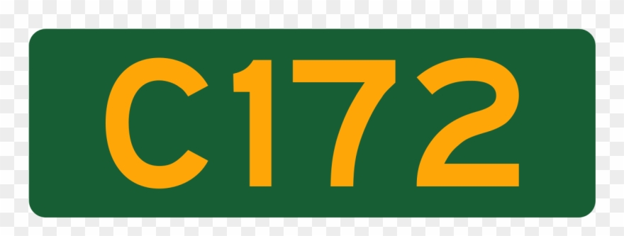 Aus Alphanumeric Route C172 Clipart (#1801515).