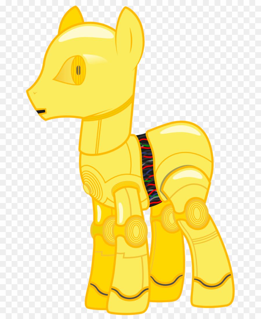 C 3po Pony PNG Pony C.