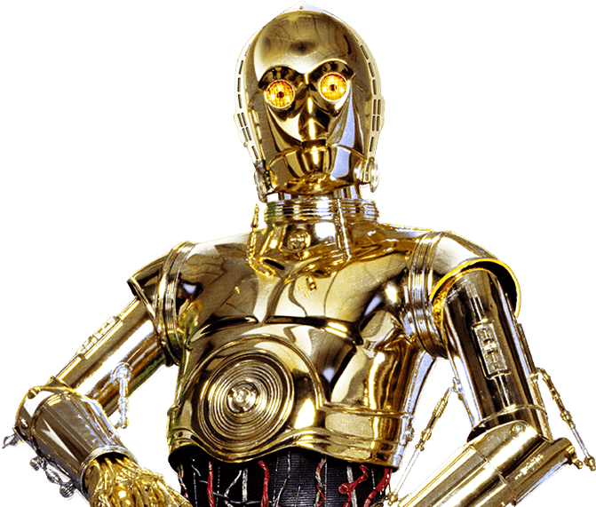 HD C3po Png Transparent PNG Image Download.