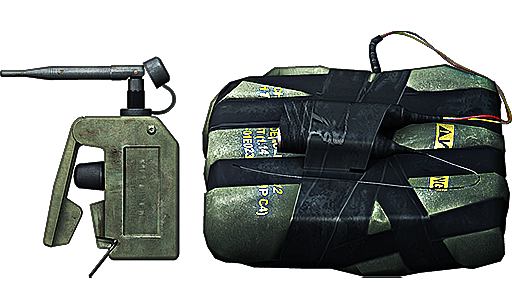 C4 Explosives.
