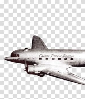 Douglas C 47 Skytrain transparent background PNG cliparts.