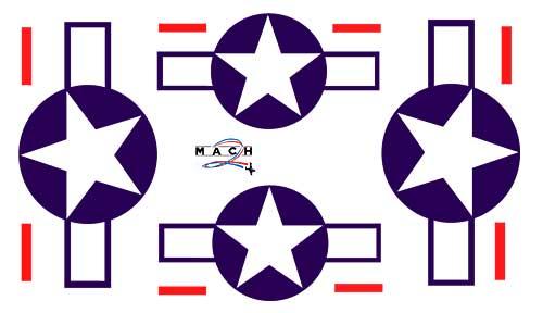 MACH 2 Plane.