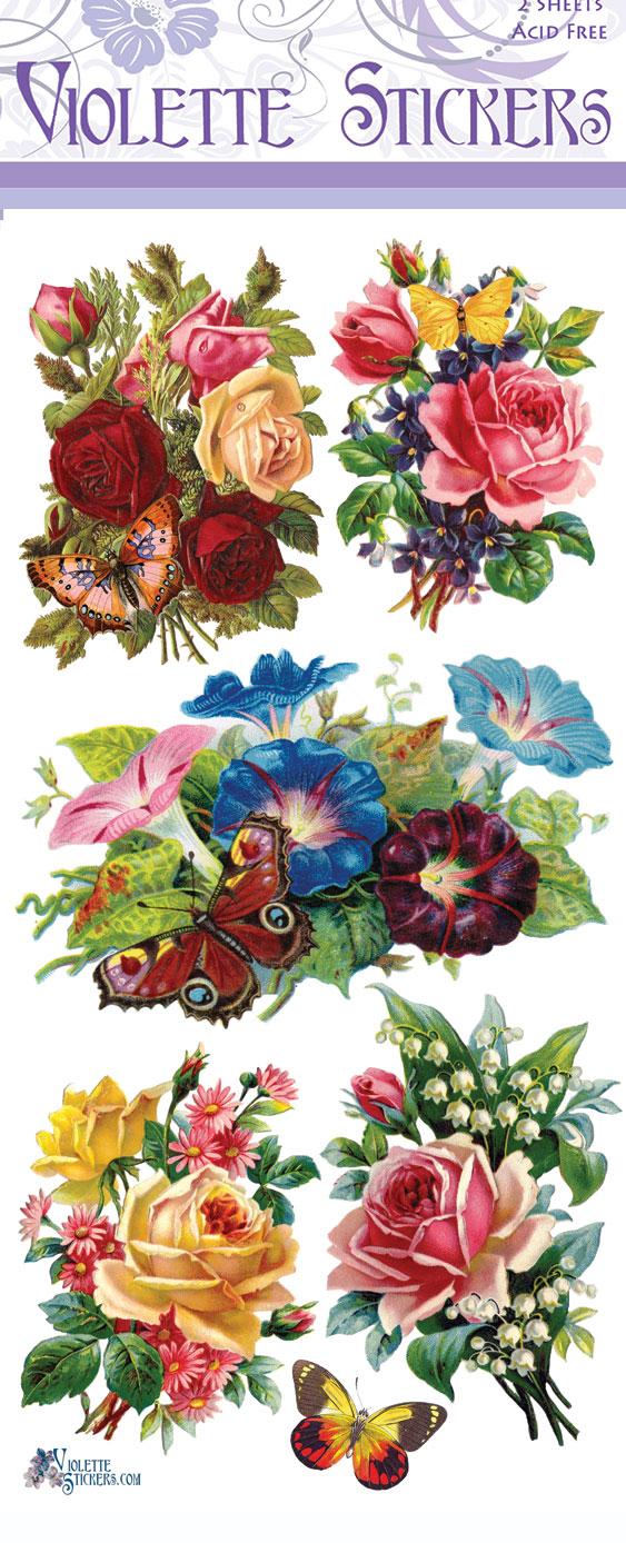 Violette Stickers : C54.