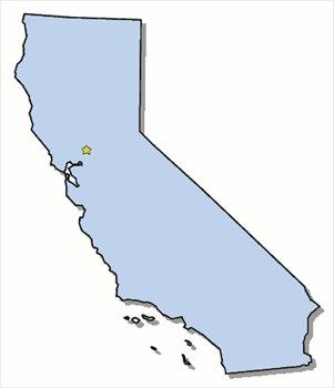 CA State Clip Art.