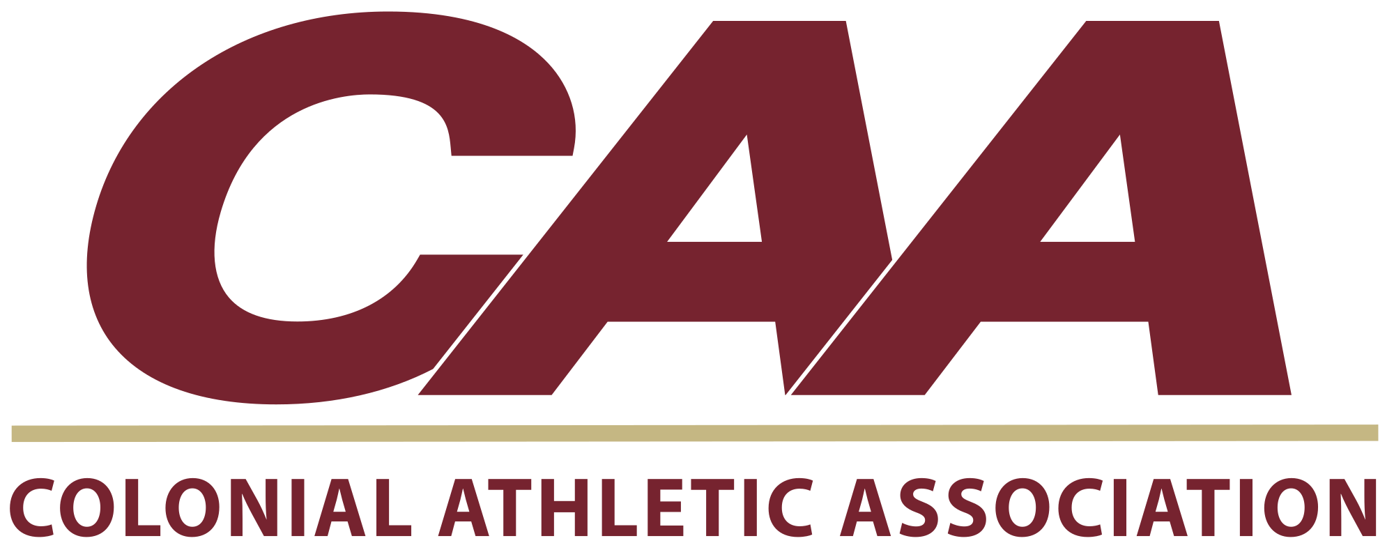 File:CAA logo in College of Charleston colors.svg.