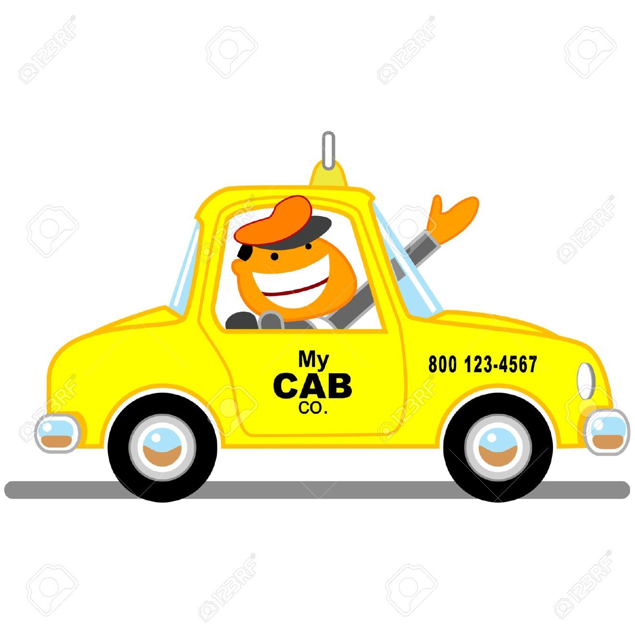 Cab clipart 1 » Clipart Station.