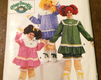 1980's Cabbage Patch Doll pattern.