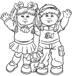 Kids coloring pages.