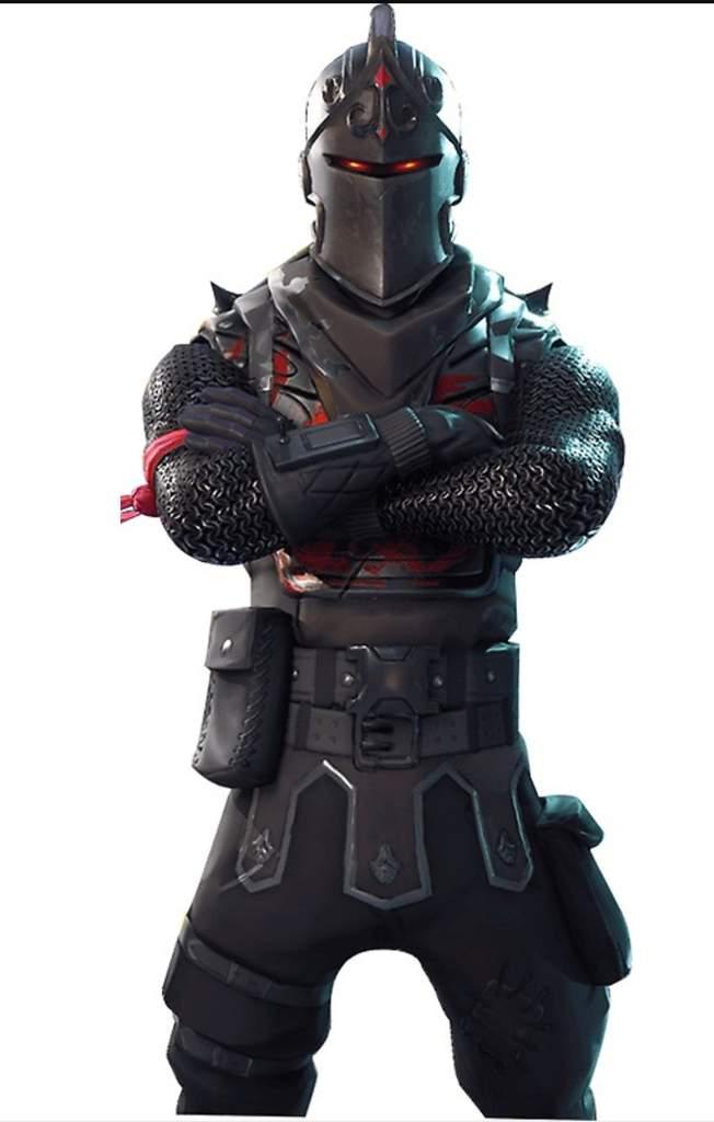 Caballero Negro De Fortnite Png.