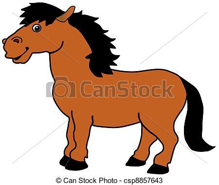 Vectores de caballo.