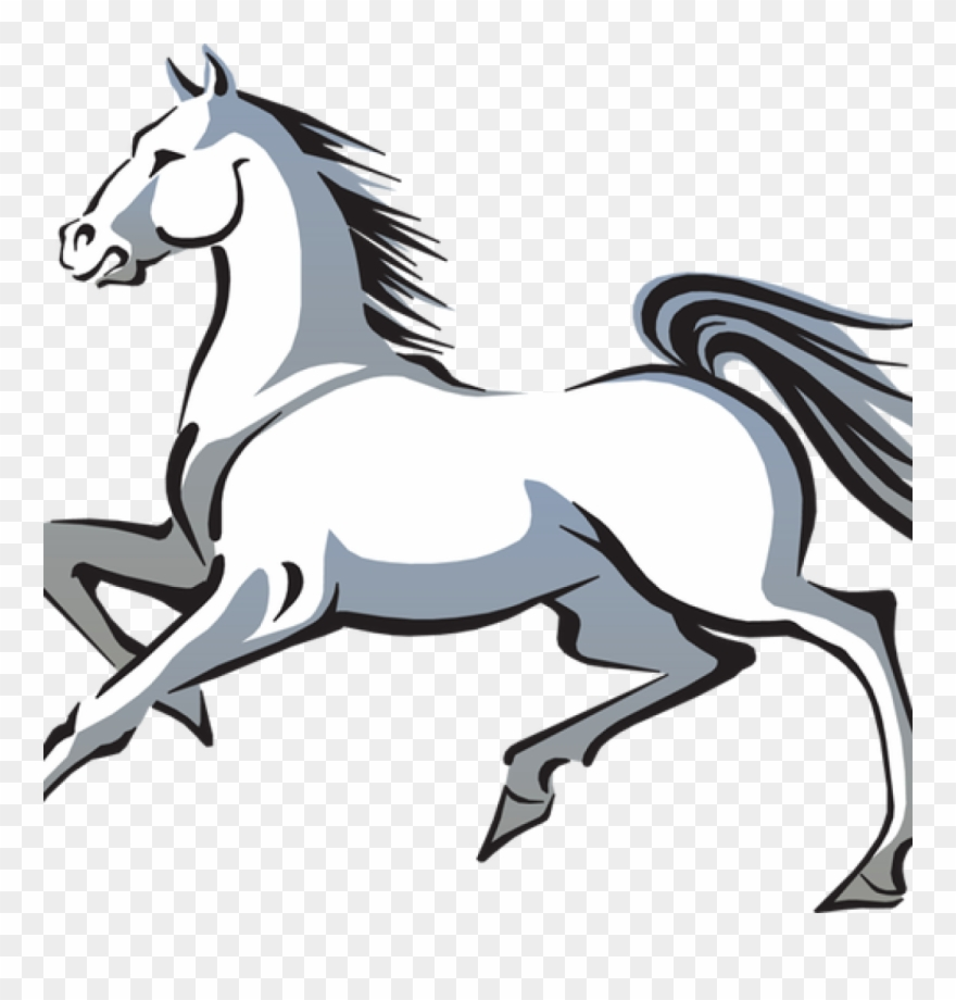 White Horse Clipart Free White Horse Clip Art And Poem.