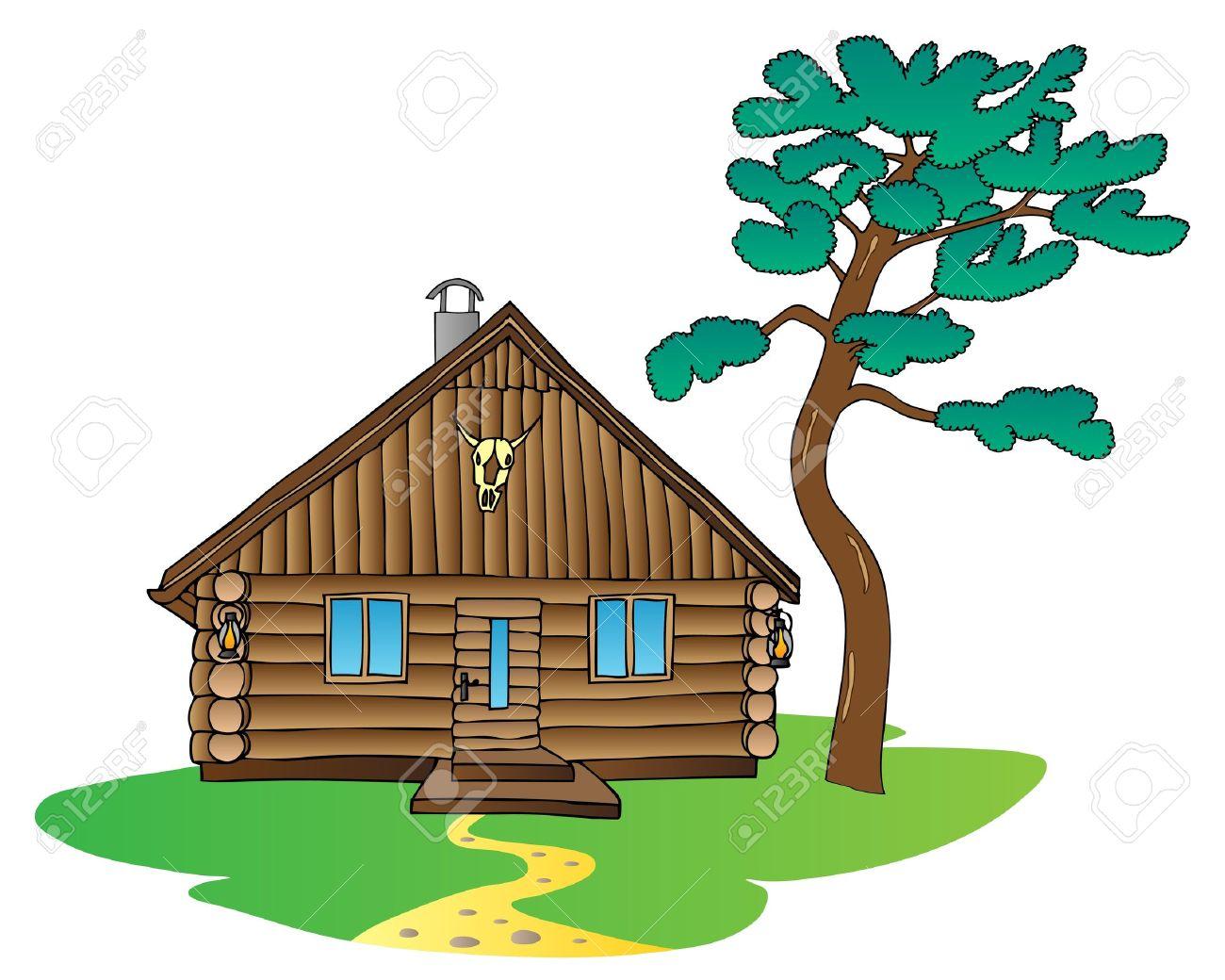 Cabanas clipart clipground - Cabanas de madera los pinos ...