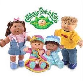Free Cabbage Patch Kids Clipart.
