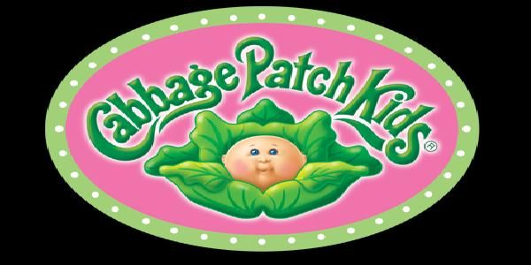 Cabbage Patch Logo Printable Large.