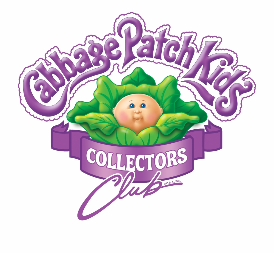 Join The Club Cabbage Patch Kids Logo.