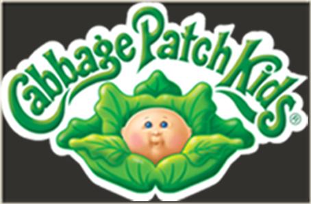 Cabbage patch kids Logos.