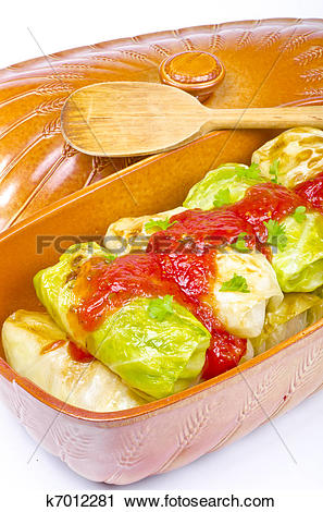 Stock Photography of cabbage rolls k7012281.